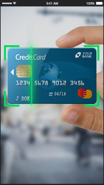 Credit Card Scanning SDK
