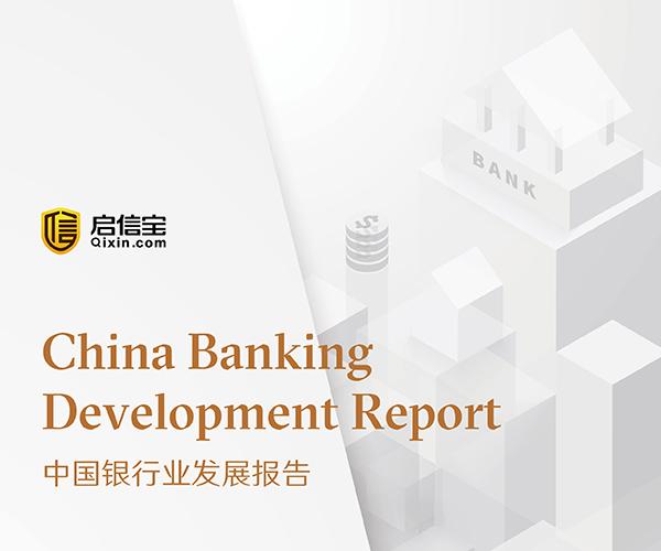 中国银行业发展报告——启信宝商业数据研究中心