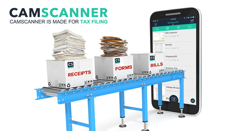 CamScanner makes tax season so much easier!